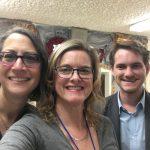 Assemblymember Laura Freidman, Lora De La Portilla, Blake Dellinger